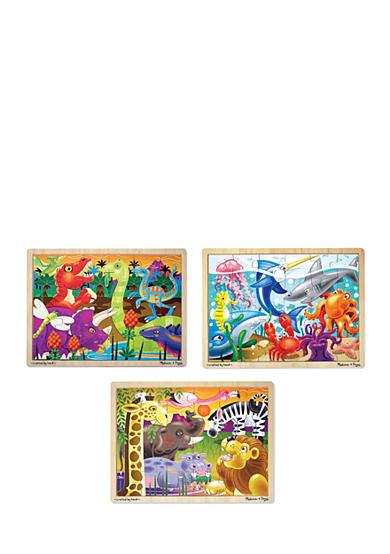 Melissa & Doug® 24-Piece Jigsaw Bundle