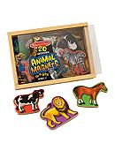 Melissa & Doug® Magnetic Wooden Animals -