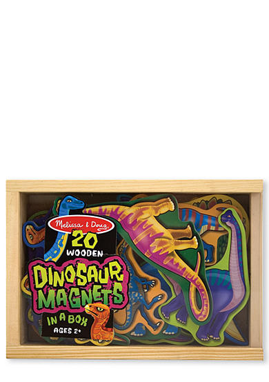 Melissa & Doug® Wooden Dinosaur Magnets - Online Only