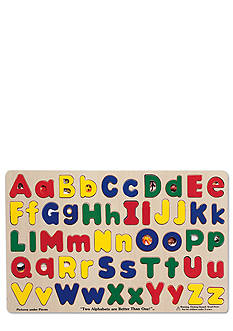 Melissa & Doug® Upper and Lowercase Alphabet Puzzle - Online Only