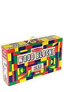 Melissa & Doug® 200-Piece Wood Blocks Set -