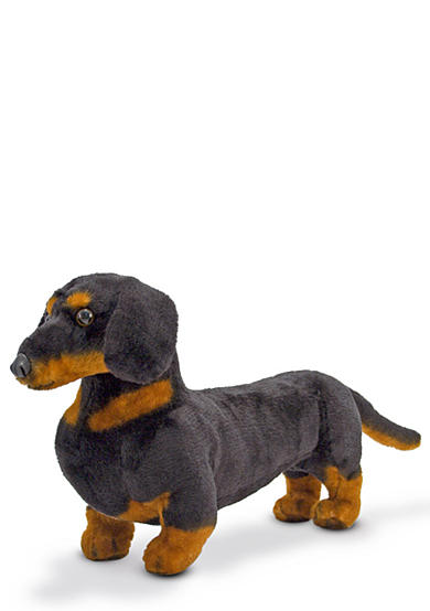 Melissa & Doug® Dachshund Plush Toy - Online Only