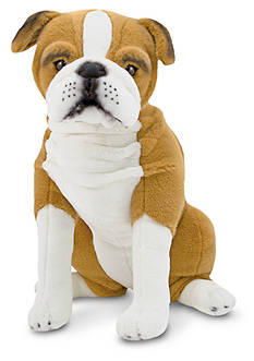Melissa & Doug® English Bulldog Plush Toy - Online Only