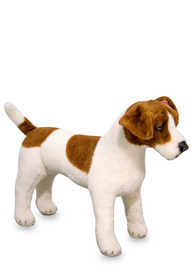 Melissa & Doug® Jack Russell Terrier Plush Toy - Online Only