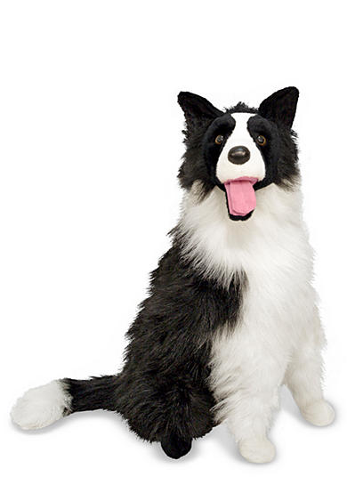 Melissa & Doug® Border Collie Plush Toy - Online Only