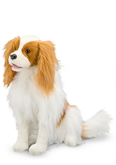 Melissa & Doug® Cavalier King Charles Spaniel Plush Toy - Online Only