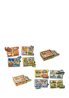 Melissa & Doug® Mini-Puzzle Pack Bundle