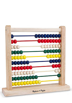 Melissa & Doug Wooden Beaded Counter Toy