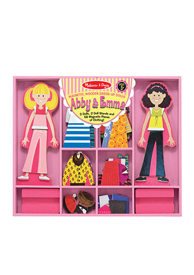 Melissa & Doug® Abby & Emma Deluxe Magnetic Dress-Up - Online Only