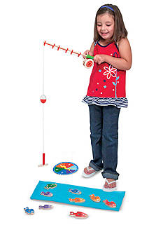 Melissa & Doug Catch & Count Magnetic Fishing Rods