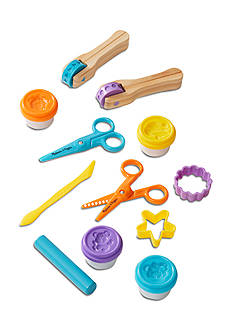 Melissa & Doug® Cut , Scultp & Stamp Clay Play Set