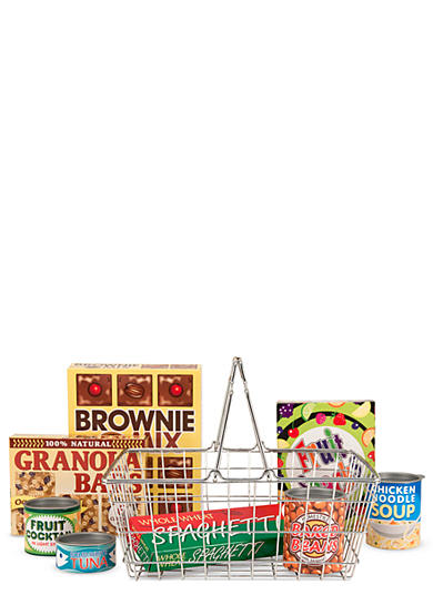 Melissa & Doug® Let's Play House! Grocery Basket - Online Only