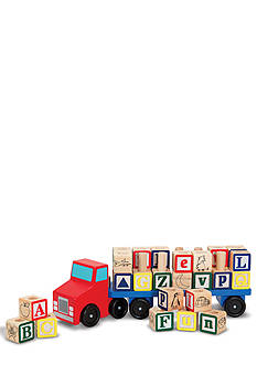 Melissa & Doug Alphabet Truck - Online Only