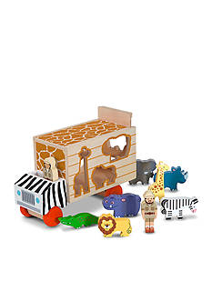 Melissa & Doug® Animal Rescue Shape-Sorting Truck - Online Only