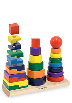 Melissa & Doug® Wooden Geometric Stackers