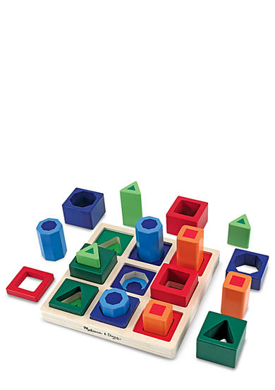 Melissa & Doug® Shape Sequence Sorting Set - Online Only