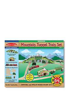 Melissa & Doug Mountain Tunnel Train Set - Online Only
