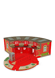 Melissa & Doug® Roundhouse & Turntable Set
