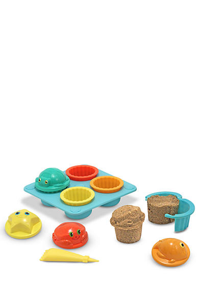 Melissa & Doug® Seaside Sidekicks Sand Cupcake Set