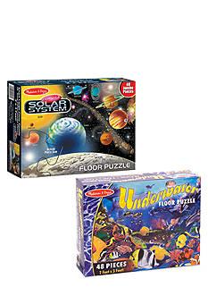 Melissa & Doug® Floor Puzzle Assortment Boxes