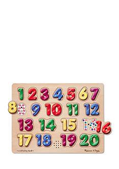 Melissa & Doug® Spanish Numbers Sound Puzzle