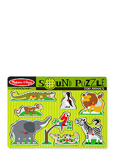 Melissa & Doug® Zoo Animals Sound Puzzle
