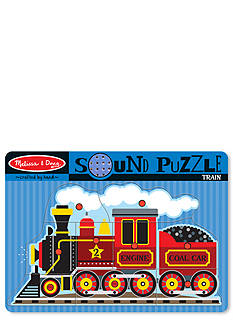 Melissa & Doug® Sound Puzzle Train Set