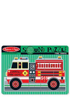 Melissa & Doug® Sound Puzzle Fire Truck