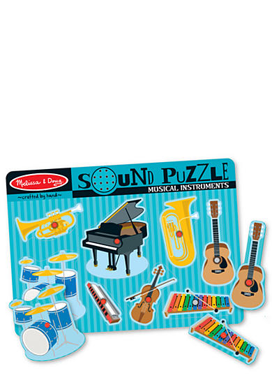 Melissa & Doug® Sound Puzzle Musical Instrument Set