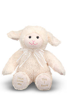 Melissa & Doug® Jesus Loves Me Lamb - Online Only