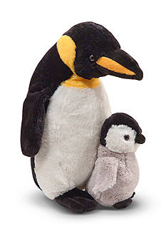 Melissa & Doug® Plush Webber Penguin With Baby