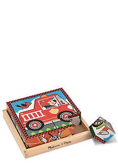 Melissa & Doug® Vehicle Cube Puzzle Set