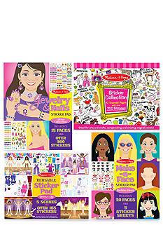 Melissa & Doug Girls Sticker Bundle - Online Only