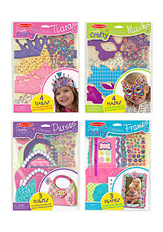 Melissa & Doug® Simply Crafty Bundle- Tiaras, Masks, Purses and Petals