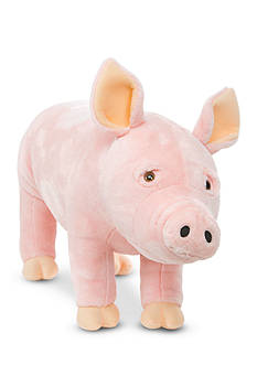 Melissa & Doug Pig Plush - Online Only