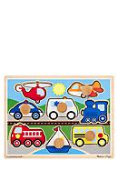 Melissa & Doug® Jumbo Knob Vehicles
