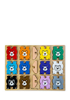 Melissa & Doug Stacking Chunky Bears-Online Only