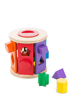 Melissa & Doug® Match and Roll Shape Sorter