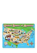 Melissa & Doug® Map USA Jigsaw Puzzle -