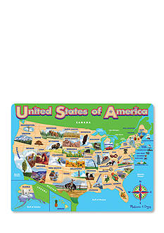 Melissa & Doug® Map USA Jigsaw Puzzle - Online Only