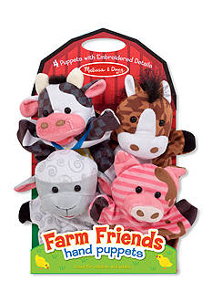 Melissa & Doug® Farm Friend Hand Puppets-Online Only