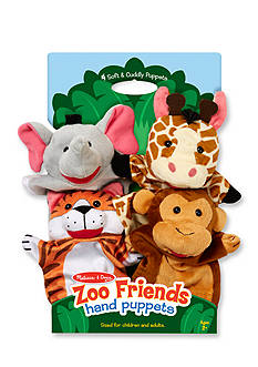 Melissa & Doug® Zoo Friends Hand Puppets