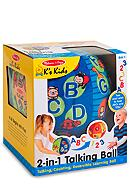 Melissa & Doug® 2 in 1 Talking Ball - Online