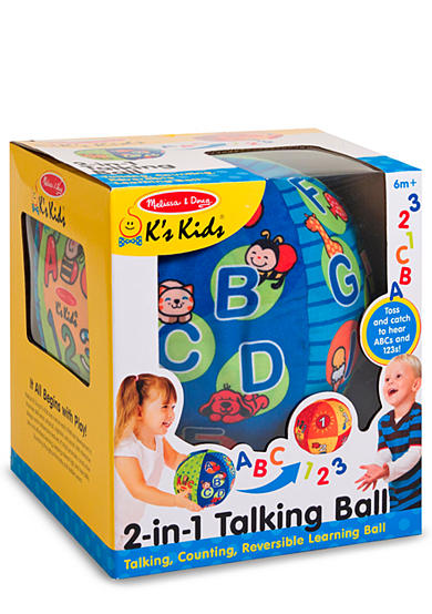 Melissa & Doug® 2 in 1 Talking Ball - Online Only