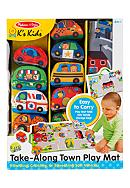Melissa & Doug® Take-Along Town Play Mat