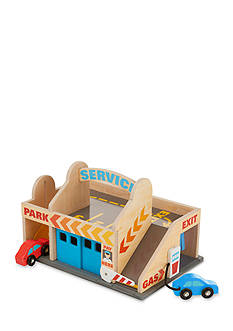 Melissa & Doug® Service Station Parking Garage