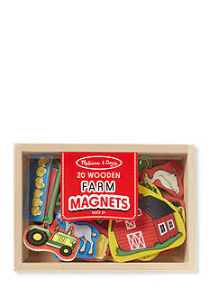 Melissa & Doug® Wooden Farm Magnets-Online Only