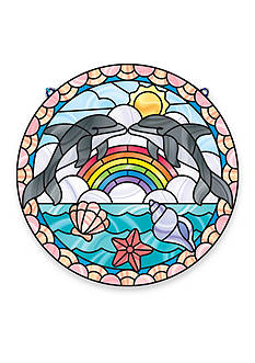 Melissa & Doug® Stained Glass Dolphins