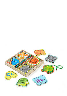 Melissa & Doug® Alaphabet Lacing Cards-Online Only