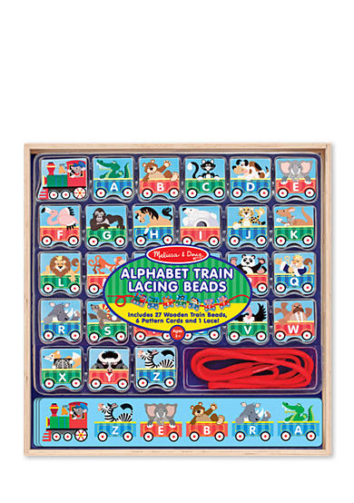 Melissa & Doug® ABC Lacing Train-Online Only